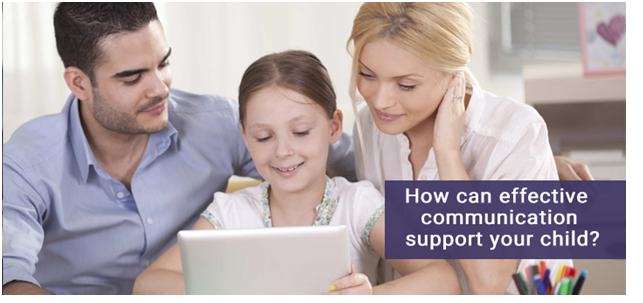 How can effective communication support your child?