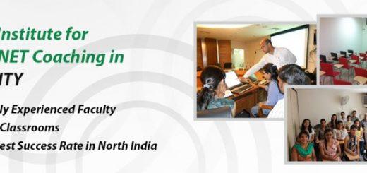 NET preparation in Chandigarh