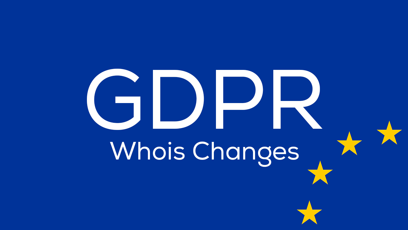 GDPR due to WHOIS