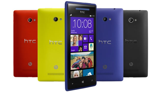 HTC 8X- Radiating Superiority from Every Edge