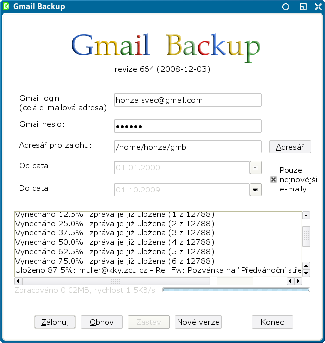 Product Review – Gmail Backup Tool