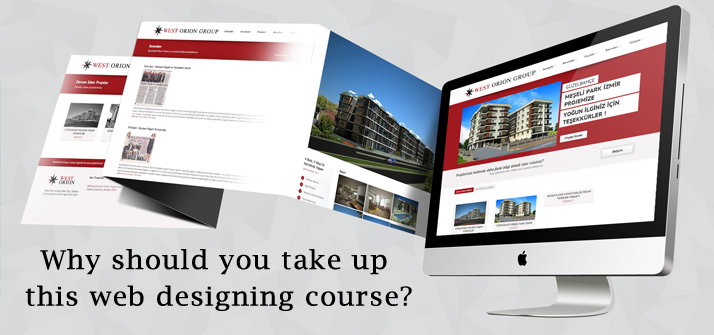 Why should you take up this web designing course?