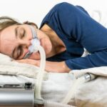 What technology is used in a sleep study?